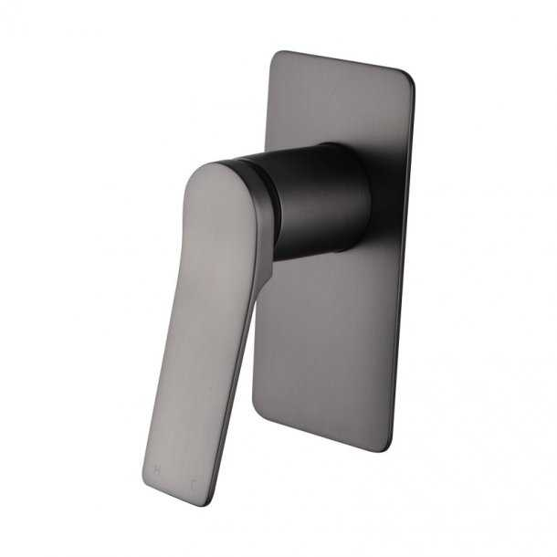 RUSHY Gun Metal Wall Mixer