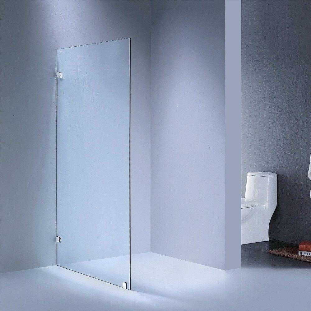 1000mm Frameless Fixed Panel Showerscreen