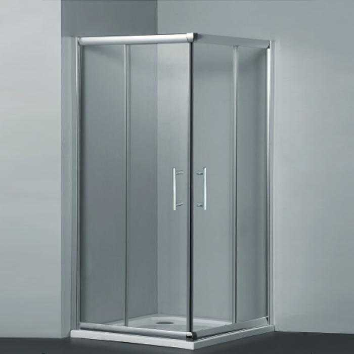 800x800mm Corner Slider Showerscreen