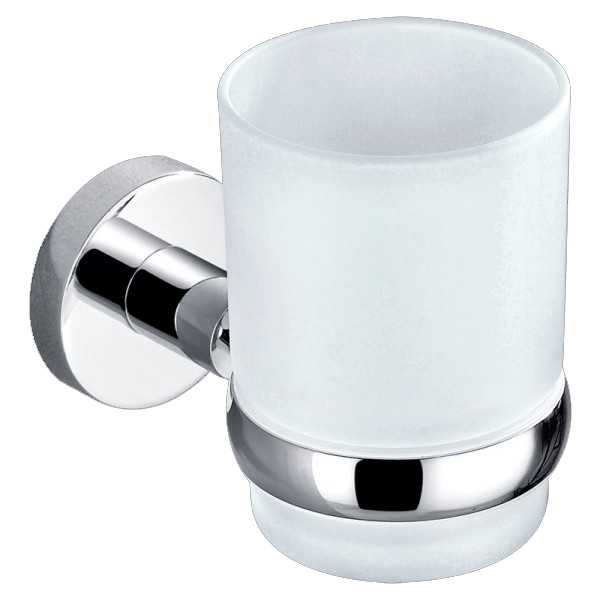 Round Single Tumbler Holder (Chrome) 400 Series