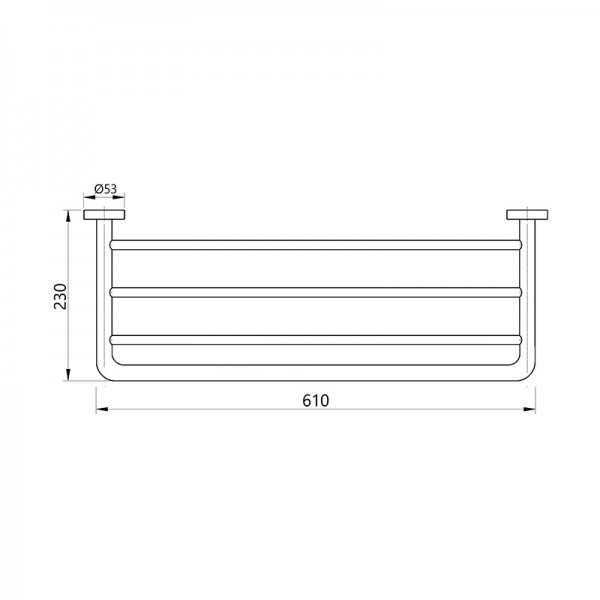 Towel Shelf 400 Series