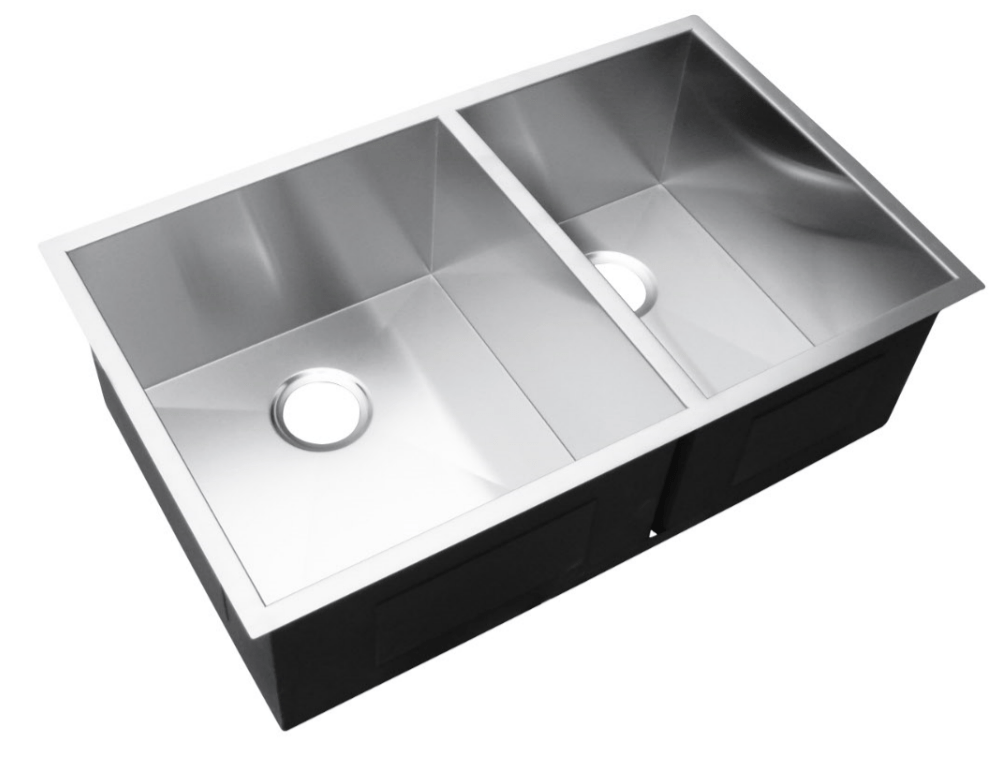 600x440x230mm Above/Undermount 1.5 Bowl Sink
