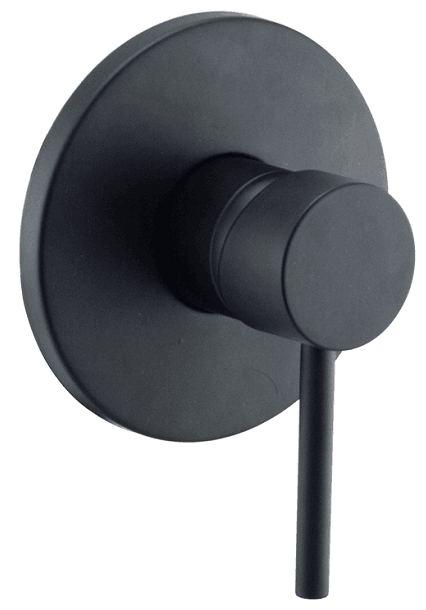 FOSCA Black Handle Wall Mixer