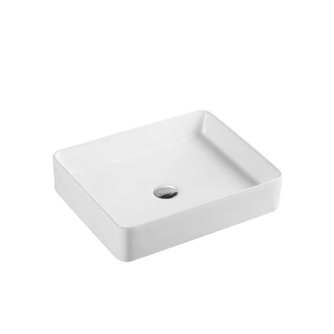 500x400mm Square Above Counter Basin