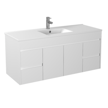 1200mm PVC Waterproof Wall Hung Vanity