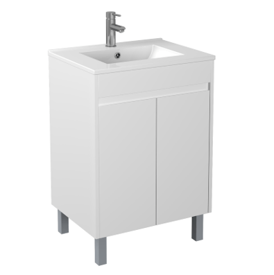 600mm PVC Waterproof Vanity on Legs
