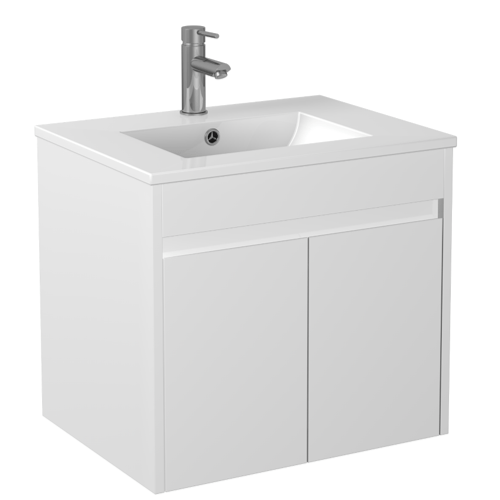 600mm PVC Waterproof Wall Hung Vanity