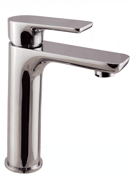 PLUSH Chrome Tall Basin Mixer