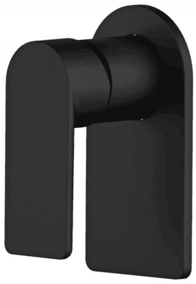 PLUSH Black Wall Mixer
