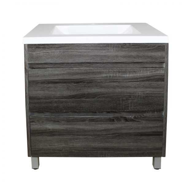 900mm Dark Grey Vanity on Legs