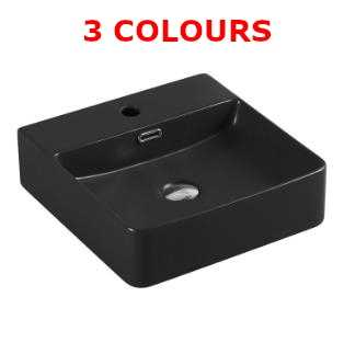 420mm Square-Round Above Counter Basin
