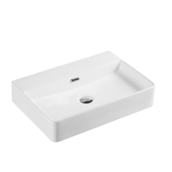 600x420mm Wallhung / Above Counter Basin (no taphole)