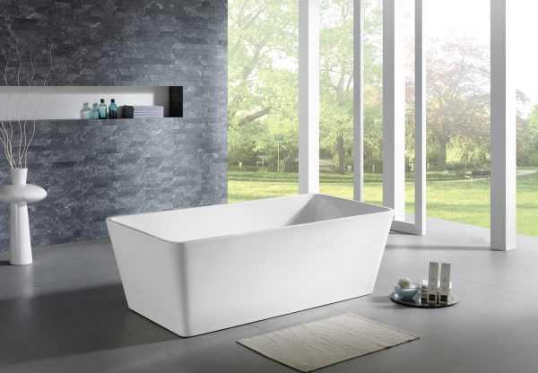 QUBIST 1200mm Freestanding Bathtub 3