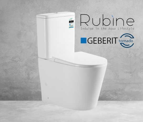 VERA Tornado Flush Toilet Suite