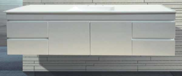 1800mm Wall Hung Vanity Single Bowl
