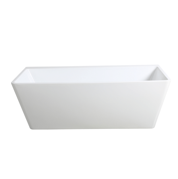 AVIS 1575mm Back to Wall Bathtub