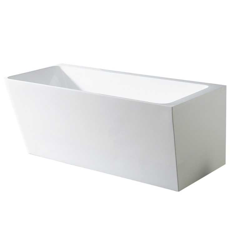AVIS Corner 1700mm Back to Wall Bathtub (Left)