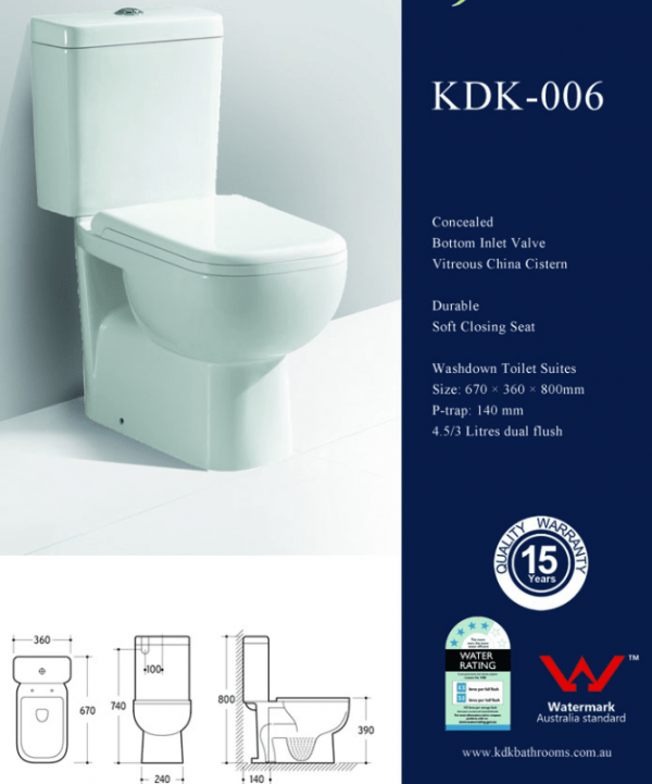 SIRIUS Back to Wall Toilet Suite 4