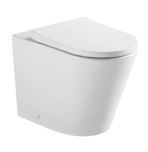 ZARA Rimless Floor Pan Toilet Suite