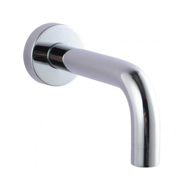 LUCID Round Chrome Bath/Basin Wall Spout