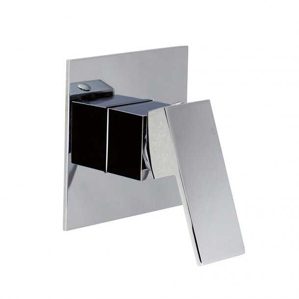 BLAZE Chrome Shower Wall Mixer
