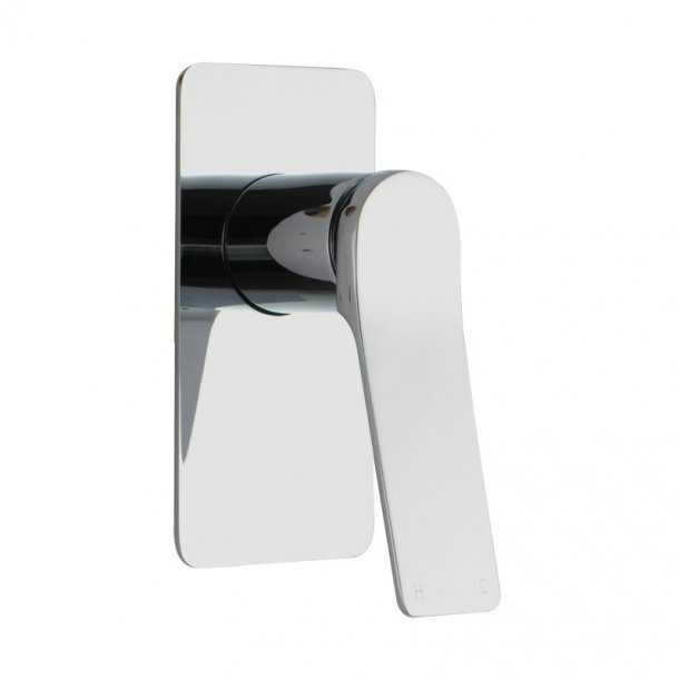 RUSHY Chrome Shower/Bath Wall Mixer