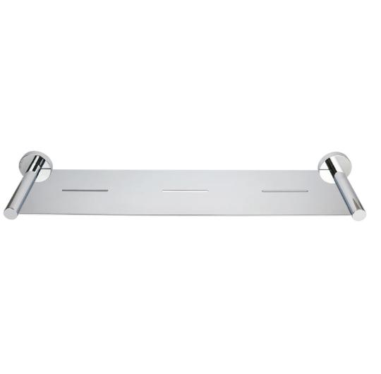 Round Metal Shower Shelf (Chrome)