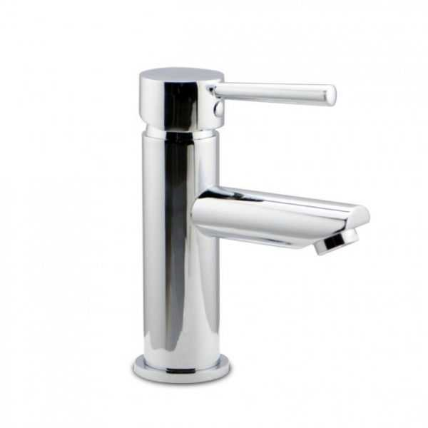 LUCID Pin Lever Round Chrome Basin Mixer