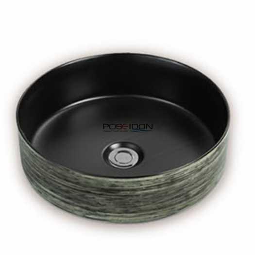 355mm Ceramic Round Basin (7 Colours) 9