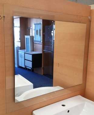 750x900mm Clear Frame Premium Mirror