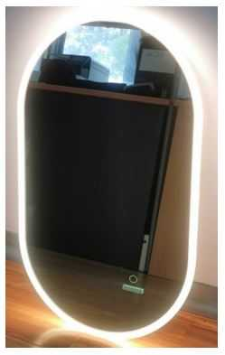 400x750mm Oval LED Mirror