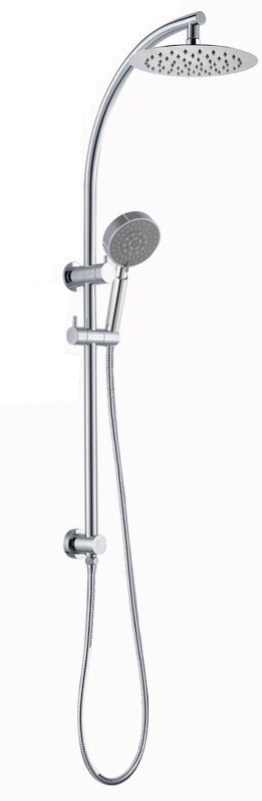 8'' Round Chrome Shower Station Top Inlet