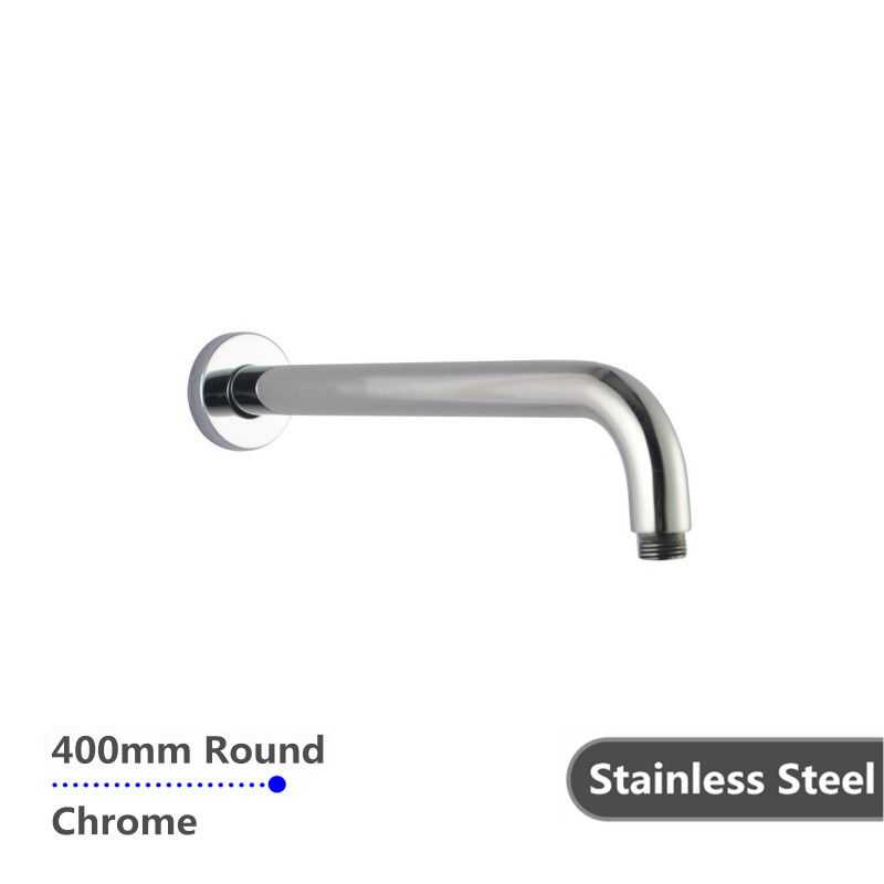 300mm Chrome Round Wall Shower Arm