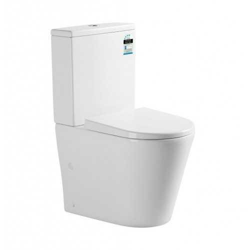 IVY Rimless Flush Toilet Suite