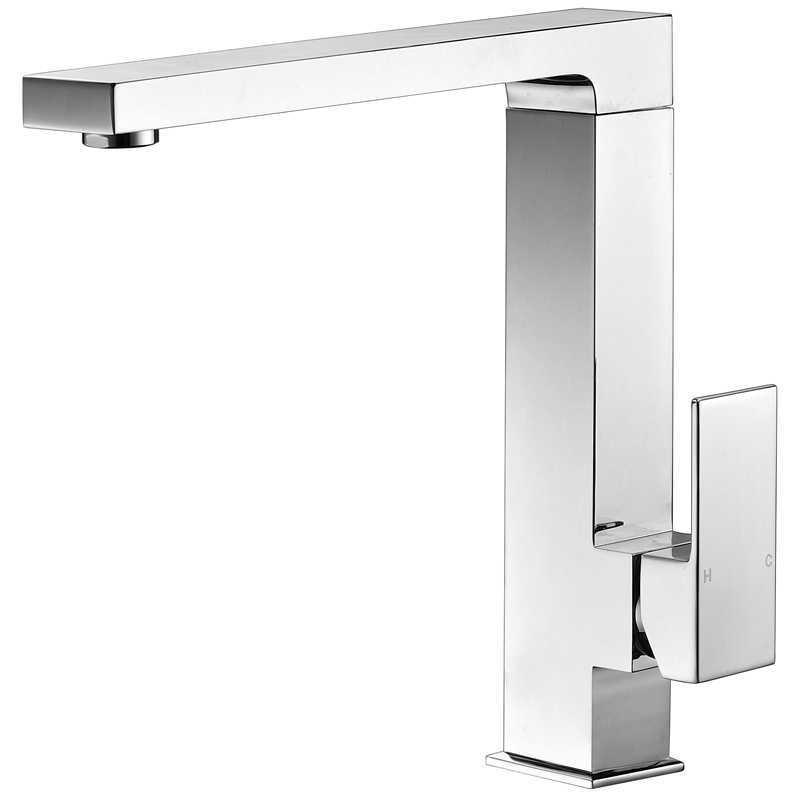 ECKIG Swivel Chrome Sink Mixer
