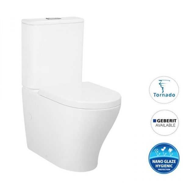 ZENITTI Tornado Flush Toilet Suite