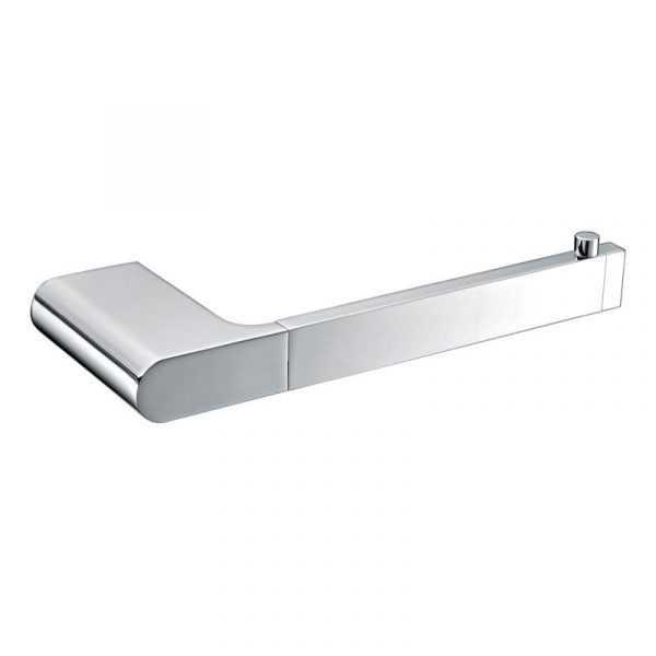 KOMPAKT RUND Chrome Toilet Roll Holder