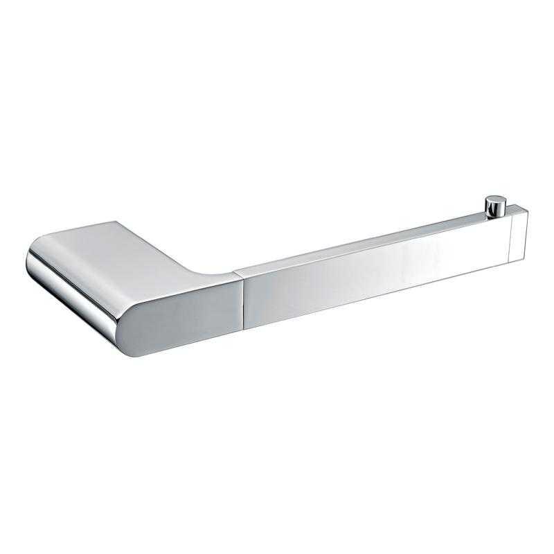 KOMPAKT RUND Chrome Hand Towel Rail