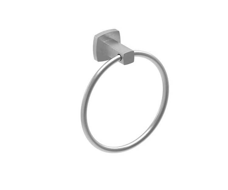 LUXUS Brushed Nickel Hand Towel Ring