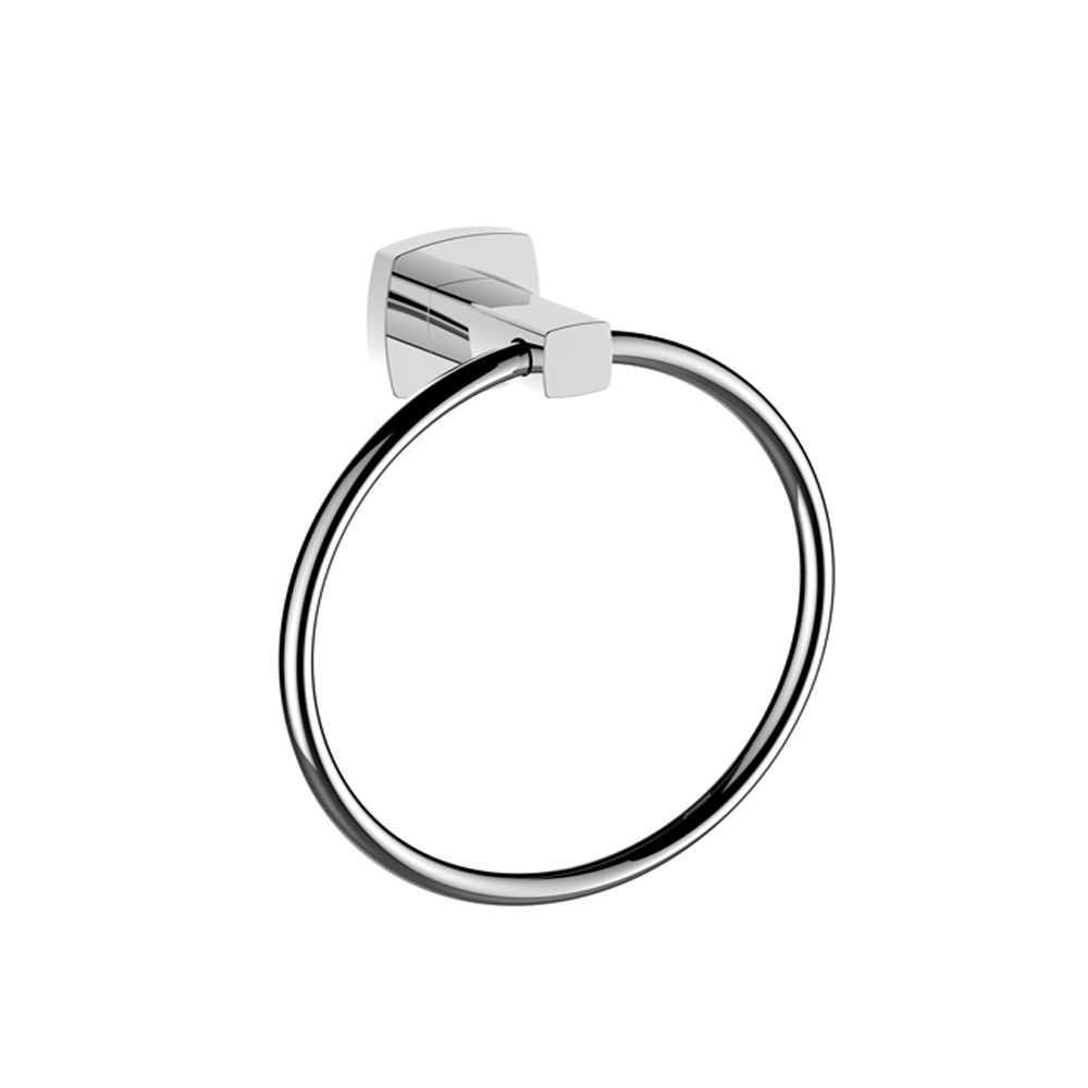 LUXUS Chrome Hand Towel Ring