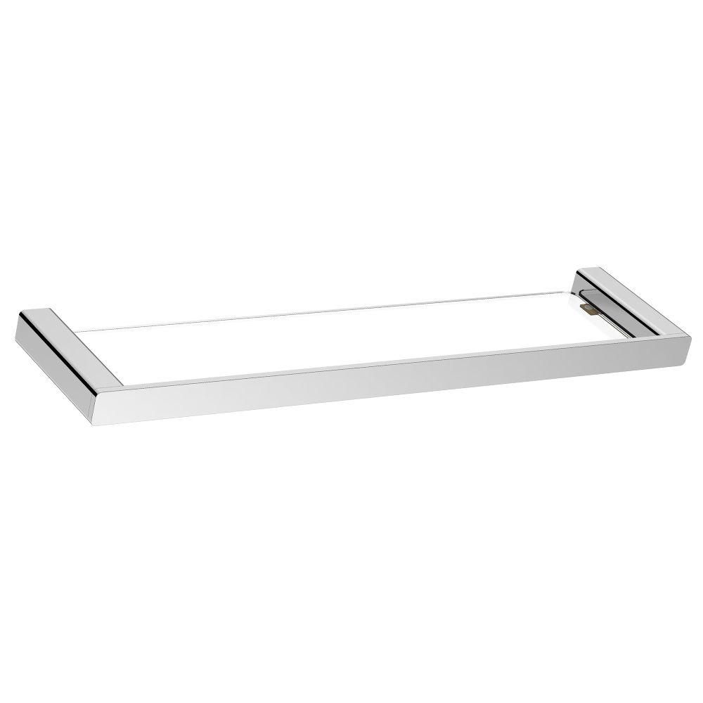 KASTEN Chrome Glass Shelf
