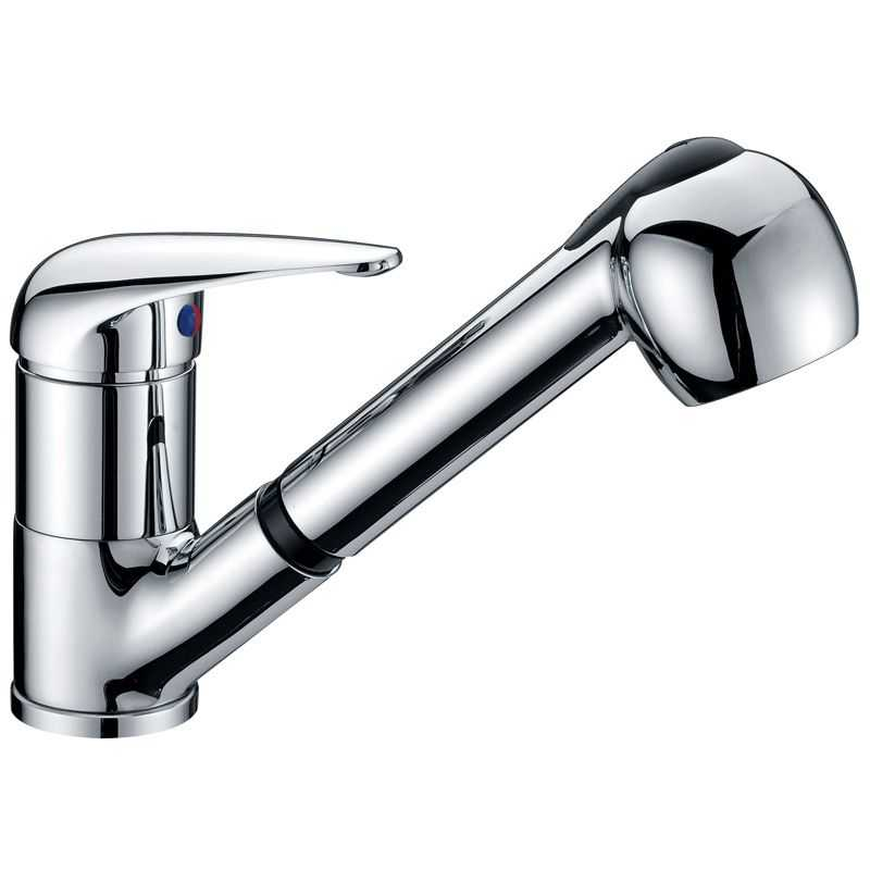 WAHLEN 10 Chrome Pull Out Sink Mixer