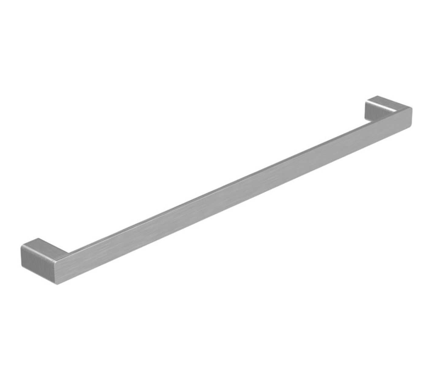 KASTEN 800mm Brushed Nickel Single Towel Rail