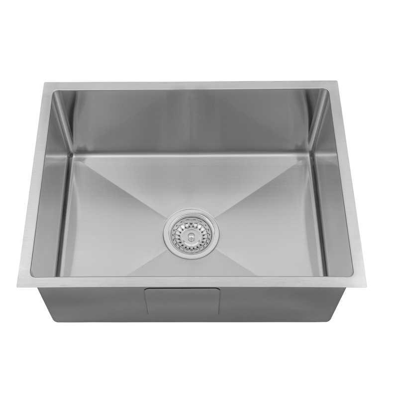 ARCKO LUX 580mm Single Bowl Sink