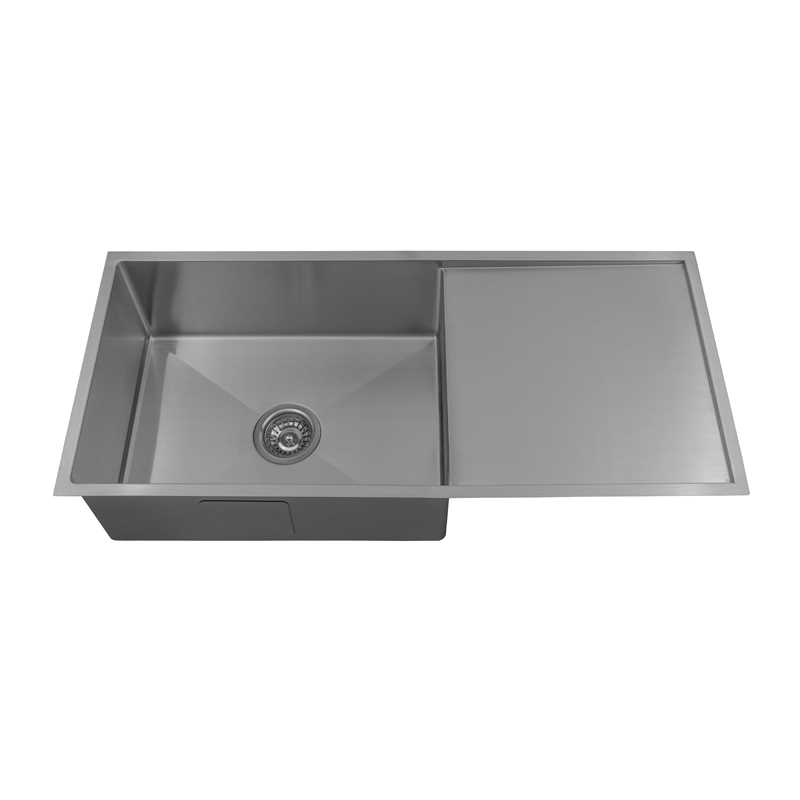 ARCKO LUX 980mm Single Bowl Sink with Drainer
