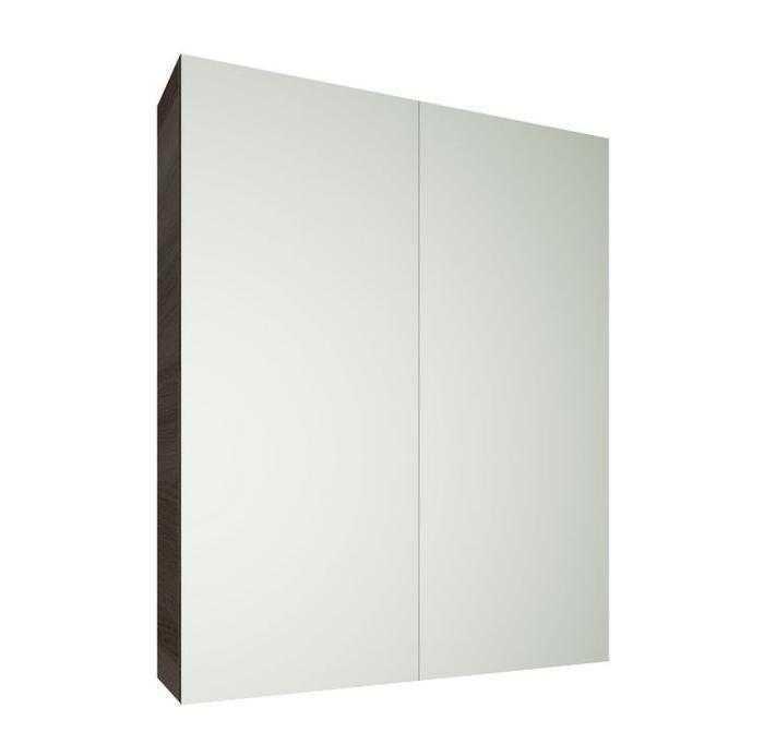 EVIE 900mm PVC Dark Brown Shaving Cabinet