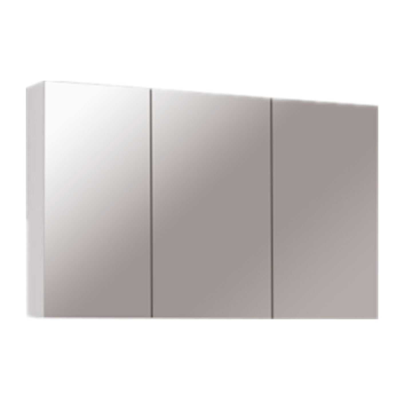 1200mm PVC Shaving Cabinet with Pencil Edge (750mm height)