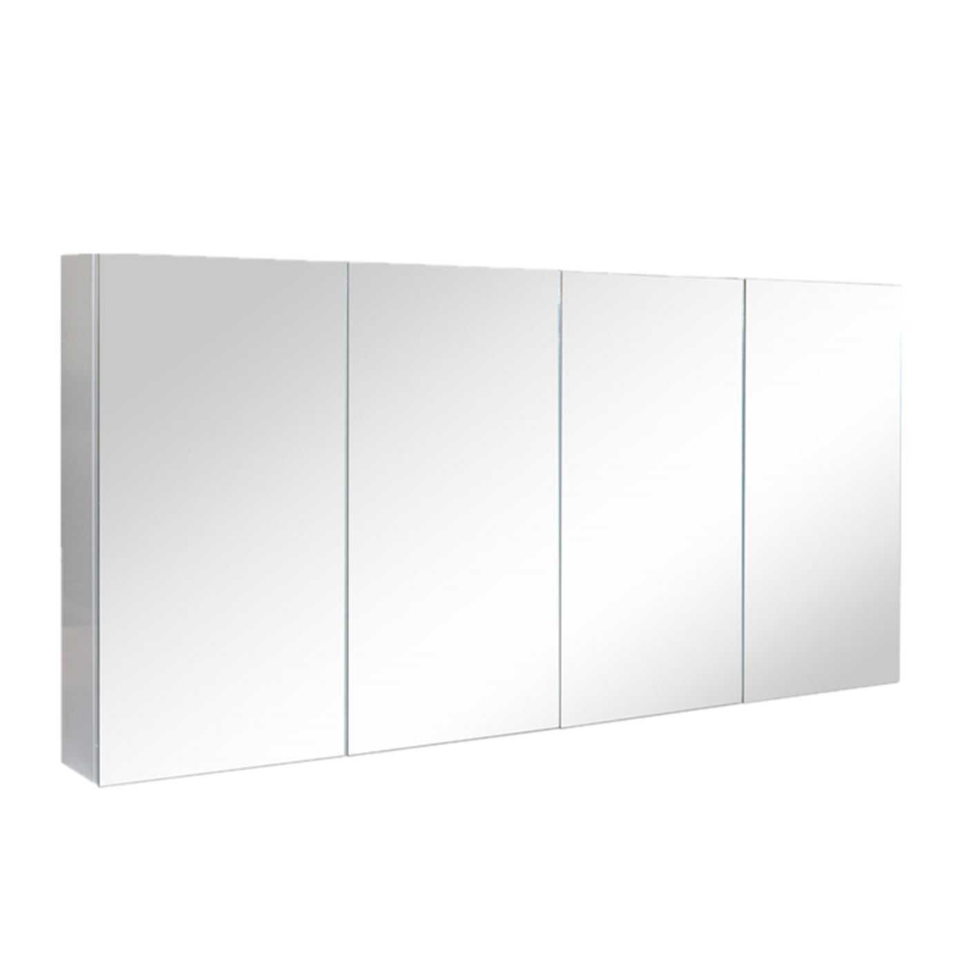 1500mm PVC Shaving Cabinet with Pencil Edge (750mm height)