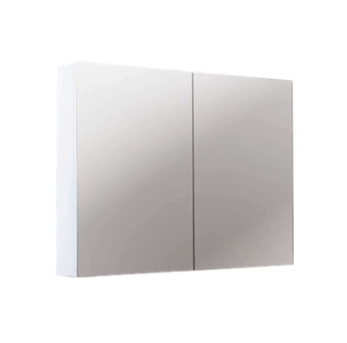 900mm PVC Shaving Cabinet with Pencil Edge (750mm height)